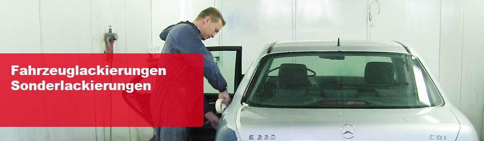 Fahrzeuglackierungen -Sonderlackierungen